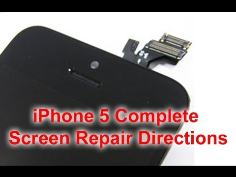 directfix - http://www.directfix.com/category/iPhone-5-Parts.html DirectFix bring to you the iphone 5 complete screen replacement directions. Just like the iPhone 4 and ...