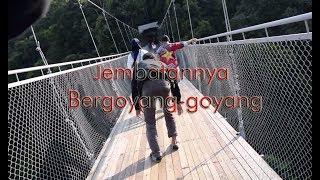 Download Video Masuk Jembatan Gantung Situ Gunung Sukabumi (Jembatan Gantung Terpanjang Se-Indonesia) MP3 3GP MP4