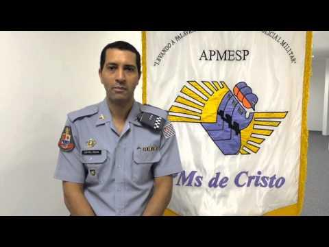 Depoimento do Cap Joel Rocha sobre a Campanha Ore Pela Sua Polícia