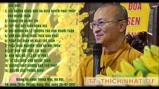 Vấn đáp: Chánh tín và mê tín- Văn hóa tống táng theo đạo Phật - TT. Thích Nhật Từ