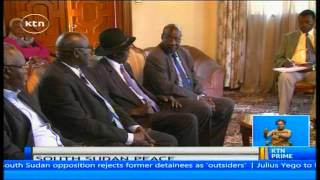 Former President Daniel Arap Moi calls for peace in South Sudan Watch KTN Live http://www.ktnkenya.tv/live Follow us on http://www.twitter.com/ktnkenya Like ...