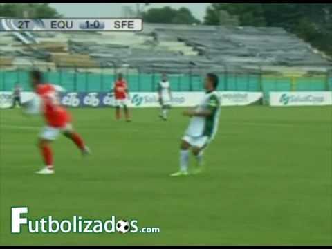 Equidad vs Independiente Santa Fé (1-0) Copa Mustang 2009.