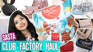 Video ✅Club Factory Bags Haul | Tried most Popular Bags From Club Factory MP3, 3GP, MP4, WEBM, AVI, FLV Mei 2019