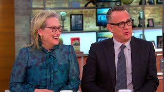 """Video Meryl Streep and Tom Hanks on the relevance of """"The Post"""" today MP3, 3GP, MP4, WEBM, AVI, FLV April 2018"""
