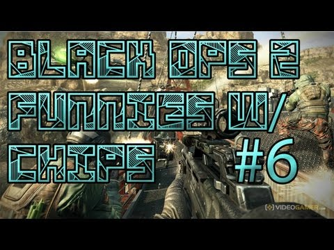 Black Ops 2 Funnies With Chips 6 (Ninja Defuse, Team Trapping, Funny Moments)-BritchesnChips