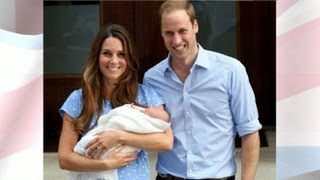 Royal Baby's First Day Home With Prince William and Kate Middleton