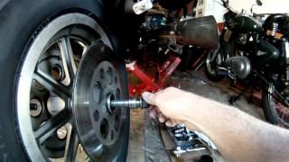 8. Harley-Davidson Rear Axle Reversal