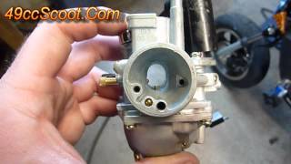 10. Two-Stroke Scooter / ATV Carburetor Settings And Adjustments 1of4 : Basics, Overview