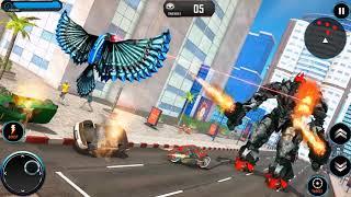 US Police Transform Spy Pigeon Flying Robot Game