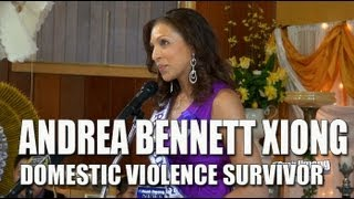 Suab Hmong News:  Andrea Bennett Xiong, Mrs. Minnesota 2013, a Domestic Survivor, Speaks out