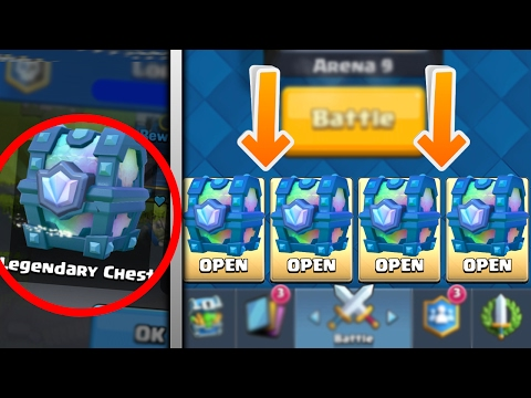how to get a legendary in clash royale 2018