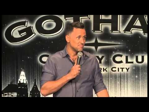 Eric Lyden performing live on 'Gotham Comedy Live'