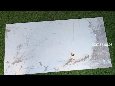 Mẫu gạch Tây Ban Nha cao cấp 75x150cm đá granite ốp tường nhà tắm