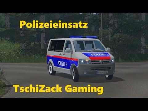 VW T5 police Austria v2.0