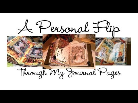 Journal - A deeper delve into my favourite ever art journal. Warning though; it is quite a long, and quite a personal video. I share some actual aspects of my life tha...