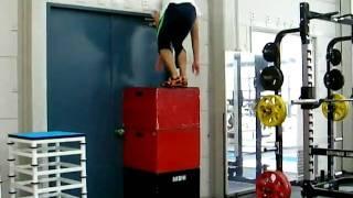 【最大跳躍力をアップ!】高さにこだわったボックスジャンプ