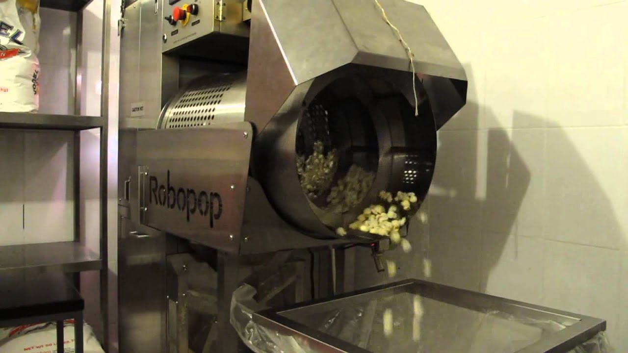 "Robopop ® en el cine ""Kroverk Cinema"""