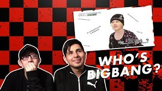Video GUYS REACT TO BIGBANG 'An Unhelpful Guide to BIGBANG' MP3, 3GP, MP4, WEBM, AVI, FLV Juni 2018