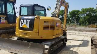 9. Caterpillar 308E Excavator
