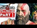 Video GOD OF WAR 4 Gameplay Walkthrough Part 1 [4K HD PS4 PRO] - No Commentary