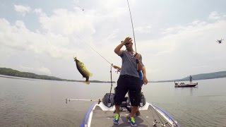 GoPro: Gerald Swindle and Shaye Baker Powerboat Fishing