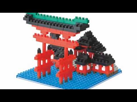 Video YouTube overview of the Nanoblock NBH017 Torii Of Itsukushima