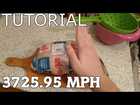 Slapping a chicken at 3725.95 MPH