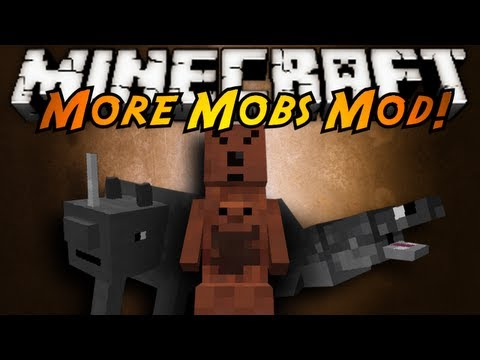 mod - 6 NEW MOBS, FROM MONKEYS TO SHARKS TO EVEN WEIRD MUTATED KANGAROOS! RELEASE THE WILD WITH THIS MOD! Download the mod here! (tell em sky sent you!) http://www...