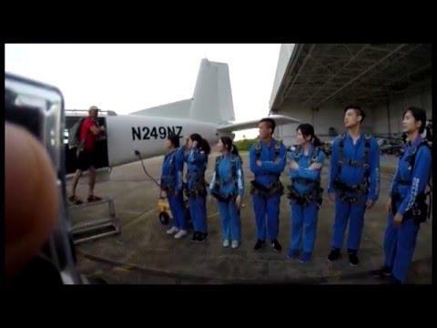 没体验高空跳伞 别说你去过关岛【影】