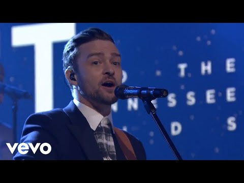 Justin Timberlak-Not a bad thing (Live on the tonight show starri
