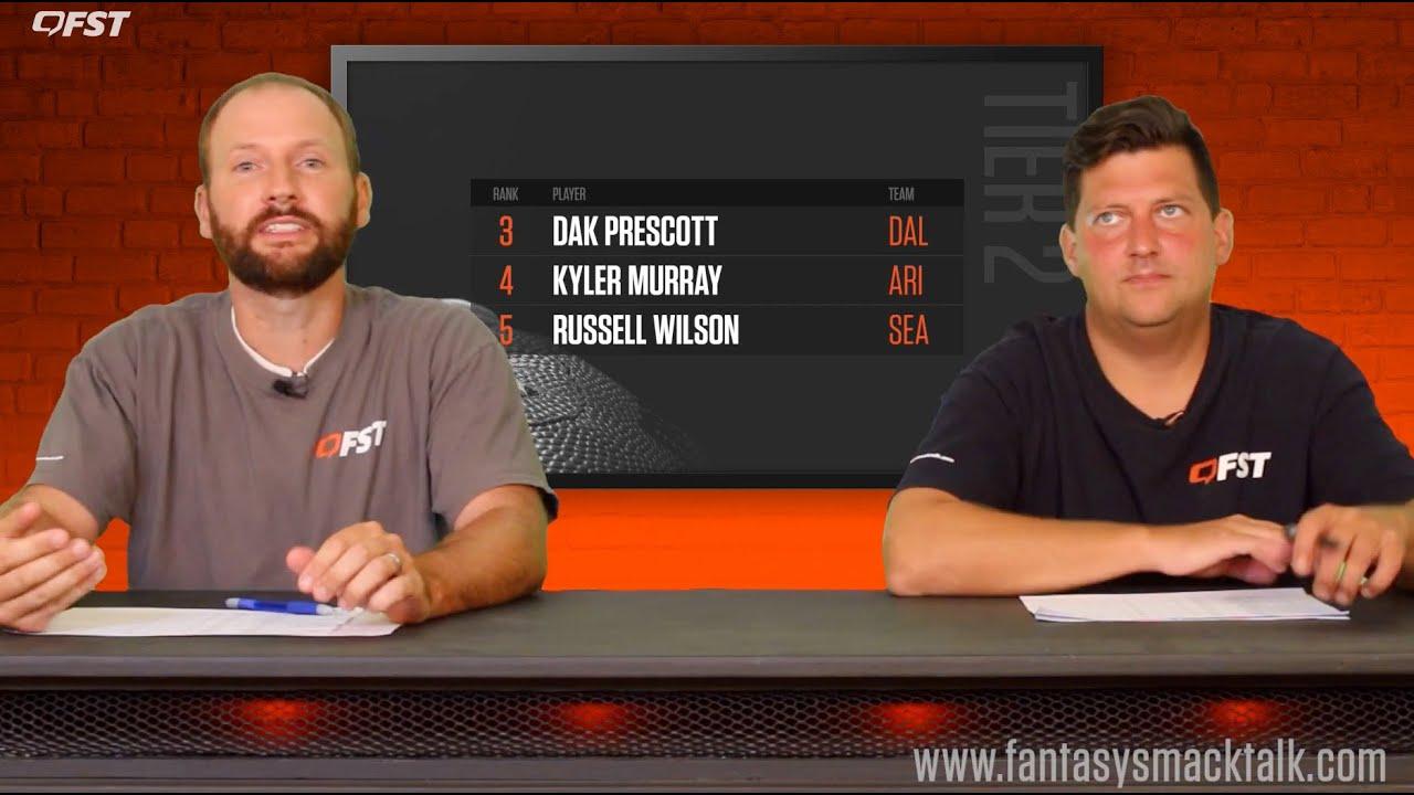 2020 Fantasy Football Quarterback Tiers and Rankings thumbnail