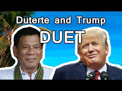 Video Duterte & Trump Duet | Closer by The Chainsmokers download in MP3, 3GP, MP4, WEBM, AVI, FLV January 2017