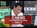 News (October 19, 2018) PART 2
