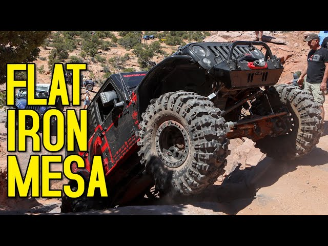 Flat Iron Mesa 4×4 Trail – Rockstar Garage EJS19 Day 7