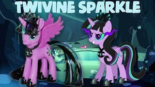Custom TWIVINE SPARKLE || TWILIGHT SPARKLE'S EVIL TWIN MLP My Little Pony Tutorial