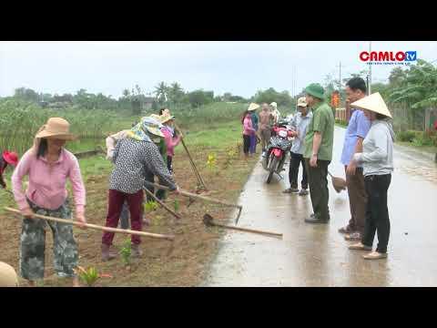 Cam Lộ nỗ lực giữ vững huyện NTM sau mưa lũ