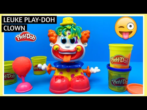 Play Doh Clown speelset en kleurwedstrijd | Family Toys Collector