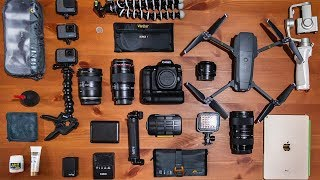 What's in my CAMERA BAG? | 2019