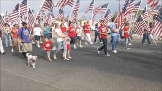 Ridgecrest (CA) United States  City pictures : 1000 U.S. Flags Parade 10Sept2011 Ridgecrest,CA