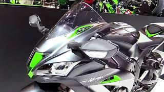 10. 2018 Kawasaki Ninja ZX10R SE Complete Accs Series Lookaround Le Moto Around The World