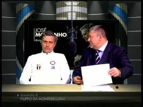 Mourinho - auguri Natale 2009 (видео)
