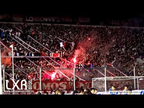 Yo era Campeón, vos te ibas al Descenso vs Velez - Inicial 2012 2º Fecha - La Barra del Rojo - Independiente