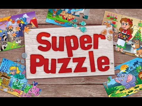 Video of Kids Animals Jigsaw Puzzles