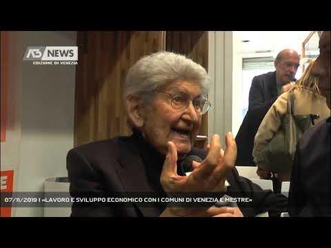 07/11/2019 | «LAVORO E SVILUPPO ECONOMICO CON I COMUNI DI VENEZIA E MESTRE»