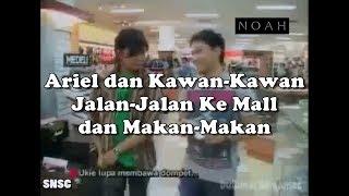 Seru! Ariel, Uki, Reza dan David Jalan-Jalan Ke Mall di Bandung