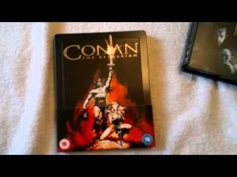 Conan The Barbarian  (1982) Blu Ray Steelbook Unboxing