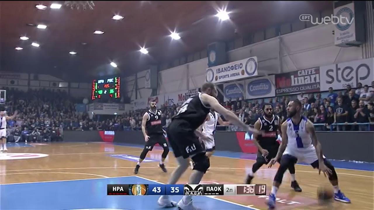 Basket League 2019-2020: ΗΡΑΚΛΗΣ – ΠΑΟΚ | HIGHLIGHTS | 28/12/2019 | ΕΡΤ