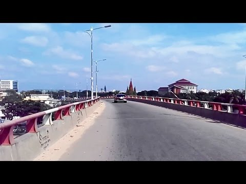 Dhaka City Drive - Mirpur to Airport Through Zillur Rahman Flyover
