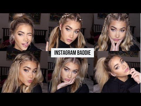Easy hairstyles - EASY INSTAGRAM BADDIE HAIRSTYLES