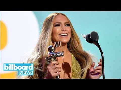 ARod Is All of Us (In Awe) Watching JLo Perform a Medley of Greatest Hits at VMAs | Billboard News